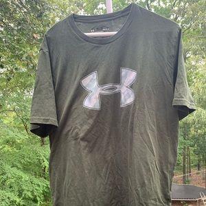 Dark Green UnderArmor T-Shirt